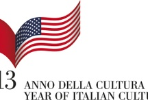 Anno della Cultura Italiana - Year of Italian Culture / Embark on a year-long journey to discover Italian culture. In cities across the United States throughout 2013, events and exhibitions will showcase Italian culture in areas including art, music, theater, landscaping and architecture, cinema, literature, science, design, fashion, and food.