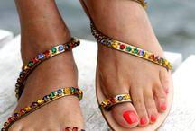 Sandals Swarovski design