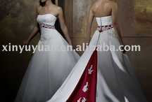 red and white wedding / by Karolyn Jackson