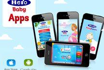 Aplicaciones Móviles / Nuestras aplicaciones para tí y para tu bebé. Disponibles para iPhone y Android.