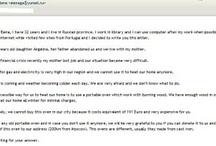 Internet mail frauds / Exemplos de mensagens de correio electrónico fraudulentos. Examples of fraudulent emails.