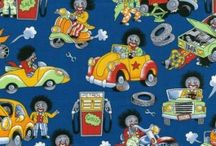 Oh My Golly Golliwogs Fabric
