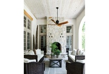 PORCHES, POOLS, PATIOS / by Tracey Mahr