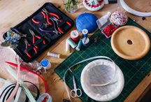 Warrillow Studio / A behind the scenes look at our millinery studio.