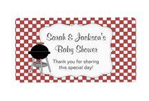 BaByQ / Baby Q / BBQ baby showers