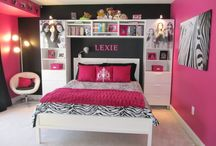 Kenzie's Closet Ideas / Planning on re-doing extra bedroom into a walkin closet for Kenzie.  Hot pink and black.  / by Shea Winkler