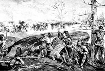 """Battle of Alamance, 16 May 1771 (and the Regulators) / """"The War of the Regulation illustrates the dissatisfaction of a large segment of the population during the time before the American Revolution. The boldness w/ which the reformers opposed royal authority provided a lesson in the use of armed resistance, which revolutionaries employed a few short years later in the War for Independence."""" fm """"The Spirit in the South: Stories of Our Grandmothers' Spirit,"""" p226, Cynthia Vold Forde, J. D., Anne Curtis Terry"""