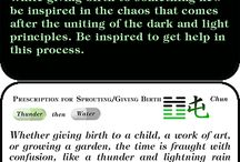 I Ching cards double