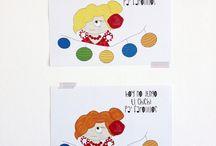 Láminas Las Crispulinas / Láminas tamaño A4 de la marca Las Crispulinas