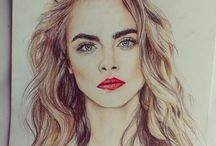 Perfect Coloured Pencil Drawings