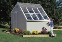 Solar Sheds / Solar sheds and greenhouse buildings. The Aurora greenhouse is the ultimate space for a potting shed, greenhouse or sun-filled project room! Its well-built and spacious interior ensures that you have enough room for planting or crafting...the possibilities are endless!