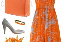 Woman dresses combination