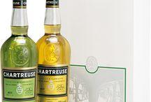 Bouteilles récentes... / La gamme des bouteilles produites par les Pères Chartreux.
