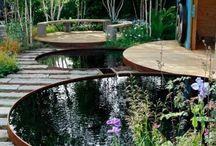 Wasser Gärten