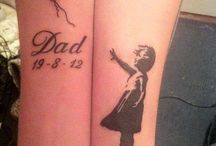 tattoos / by Lisa Wiebe