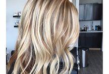 blond barva