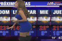 Alejandra Stephany Lopez / alejandra stephany lopez, hermosa chica del clima, la chica del clima, la chica del tiempo