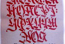 калиграфия
