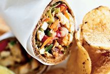 Seafood Wraps and Sandwiches