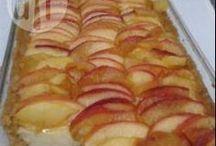 torta de  maçã  sobremesa