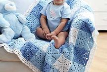 BLUE GINGHAM BABY BOY BLANKET