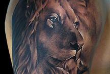 Tatoo leão
