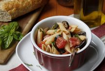 Pasta / A big bowl of pasta just screams comfort doesn't it? / by Aggie's Kitchen
