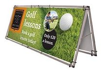 Outdoor Banners / Great range of stands and banners for outdoor use