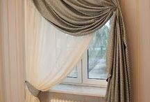 Arched and Eyebrow Window Treatment Ideas / Covering an arched or eyebrow window is a common dilemma for most.  Check out the ideas for making that lovely window look even better.  Clear rods, bendable rods, scrolls, crowns, tieback and many more clever ideas for arch windows.