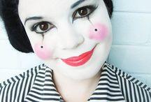 maquillaje pierrot