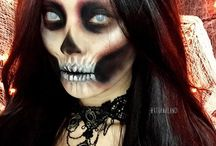 Halloweeni make up