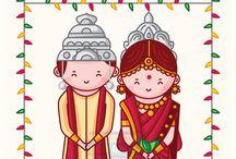Bengali Wedding Invitation Design