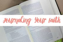 Bible Journaling / Tips and ideas for journaling your faith INSIDE your Bible.
