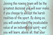 Rowing  / by Olivia Orchard-Gibb