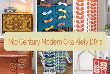 Mid-Century Modern Decor / Inspirational board dedicated to my love for Mid-Century Modern design.