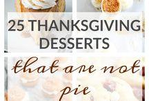 Thanksgiving deserts