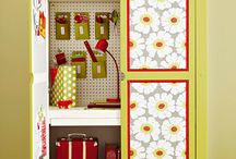 Organize It! / ~ Pretty Great Ideas ~ / by Victoriana Quilt Designs