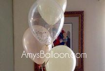 Confetti Balloons / Confetti, Glitter filled balloons