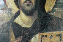 Pantocrator Icons / by Mary