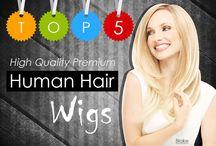 Top 5 High Quality Premium Human Hair Wigs   Treat it like your own hair / Top 5 High Quality Premium Human Hair Wigs   Treat it like your own hair