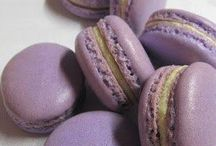 Macaron lila