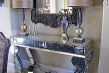 Mirrors/Mirrored Furniture