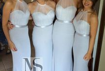 bridesmaid's and prom dresses