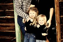 Rustic family photo shoot ideas
