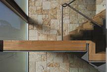 staircase.wood.metal