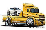 Trucker EU. Potisky