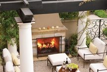 Outdoor Patio, Fireplaces & Kitchens