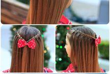 Penteados de meninas
