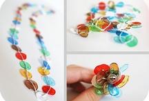 Yewelery from plastic bottle