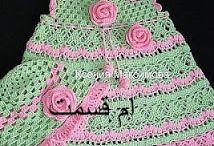vestido-niñaverde-rosado